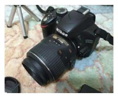 Nikon D3200 camera black And boxes for sale