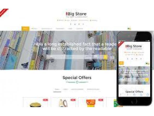 Online Shopping store Website developer required