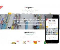Online Shopping store Website developer required