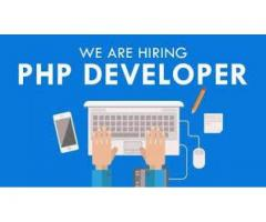 Experienced PHP Developer Required