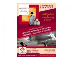 Universal Services bring best Heat Proofing & Waterproofing Solutions
