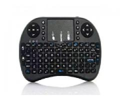 Mini keyboard wireless with tracking touchpad for sale