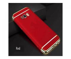 Luxury 360 Degree Protective Case for All Models Red & Gold