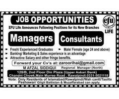 Jobs Opportunities