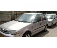 Suzuki cultus 10/10 condition urgent sale need money
