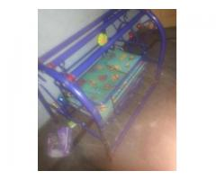 Iron rod baby jhoola with matress For Sale In Lahore
