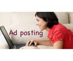 Ad Posting Jobs For female And Male  In Karachi Pakistan