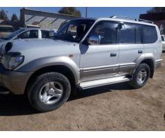 Toyota TZ prado non custom paid for sale