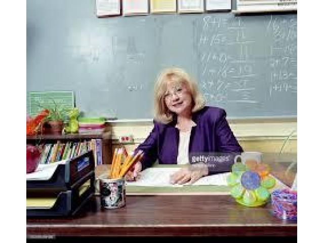 Required Female mature teacher
