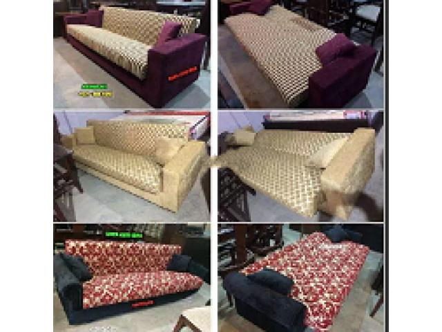 Wooden sofa cum bed Best sale offer 2018 By khawaja's