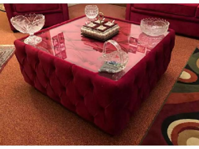 Sofa set 7 seater with centre table 3 2 1 1