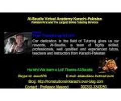 Physics private Online tutors of Al-Saudia Virtual Academy