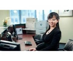 Female Receptionist required with a handsome salary