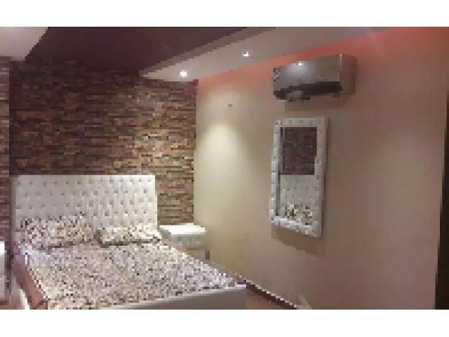 Fully Furnished Apartment, For Rent, Sector-C, Bahria Town Lahore.