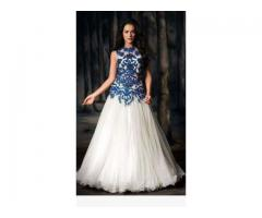 WHITE FROCK Dress for party fresh introduction