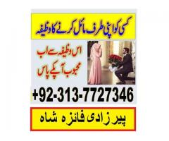manpasand ki shadi ka istikhara or wazifa amila best in black magic +92313-7727346