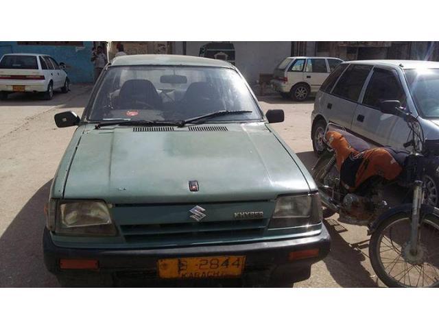 Khyber Car Model 1989 For Sale In Good Amount Karachi Local Ads