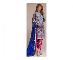 Best Quality Embroidered Chiffon for sale