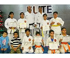 Kids karate and fitness classes