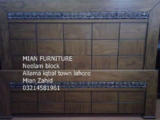 Ash wood and sheesham bed with warranty From Milan furniture for sale