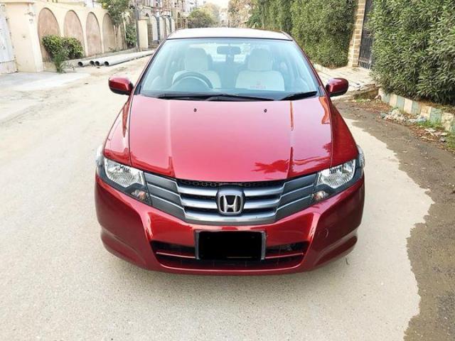 Honda city ivtec 1.3 model 2013 original habanero red color