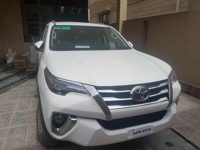 Toyota Fortuner 2018 super white brand new zero for sale