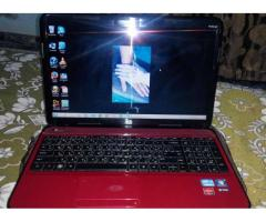 New HP laptop in Red Colour Good Condition For Sale In Sialkot