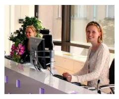 FRONT DEST OFFICER (FEMALE) REQUIRED IN RAWALPINDI