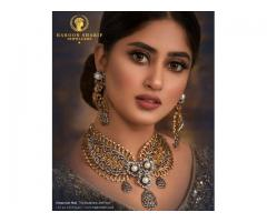 Pure Gold and Diamond Jewellery in Lahore Pakistan