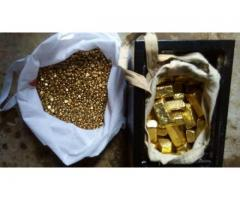 THE SALE OF PRECIOUS METALS: GOLD BARS, ROUGH DIAMONDS