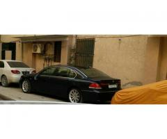 NCP.non custom paid BMW model 2004 blue color 35l .7 series