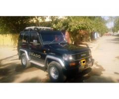 Toyota Land Cruiser Prado (3 Door) V6 for sale in good amount