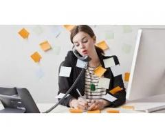 Receptionist female required