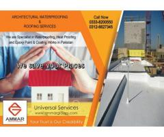 Architectural Waterproofing & Roofing Services.