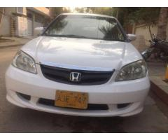 Honda civic prosmatic 2005 Automatic good rates
