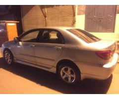 Corolla se saloon Model 2003 for sale in good amount reasonable thing to do