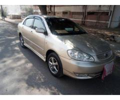 Corolla altis 2005 for sale in good condition all work is done
