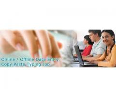Online data entry job for male