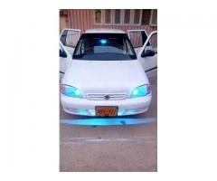 Suzuki cultus 2002 for sale in good amount