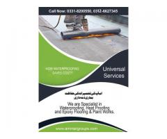 Waterproofing concrete in pakistan