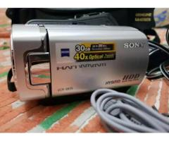 Sony Handycam DCR SR35e, 30GB HDD, 40X optical zoom, Scratchless.