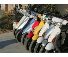 Japanese scooters free delivery service all Pakistan