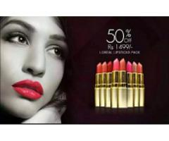 Girls Pack of 12 loreal matte lipsticks for sale in good amount