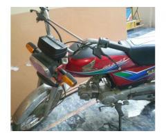 Honda CD 70 Model 2012 For Sale In Gujranwala Pakistan