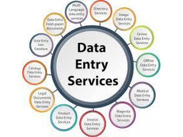 data entry)Jobs for matric passed M/F,students other work
