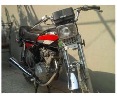 Honda 125 Modal 1989 For Sale In Lahore Pakistan
