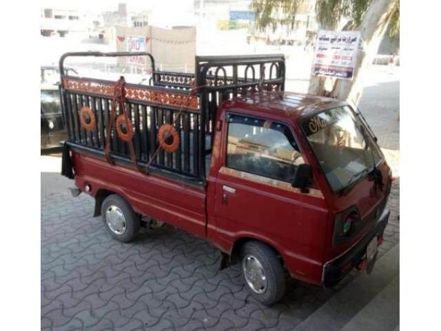 Suzuki ravi 1985 model Red Colour for Sale In Rawalpindi