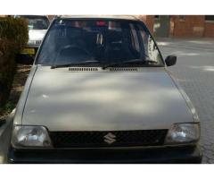 Suzuki Mehran 1998 Good Condition For Sale In  Quetta, Balochistan