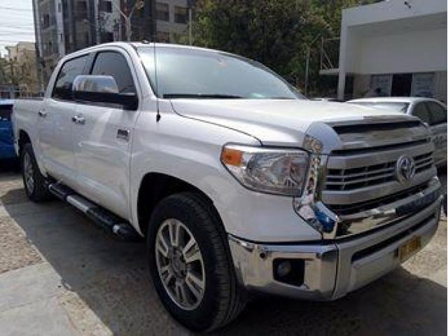 For Sale Is Our 2014 Toyota Tundra 1794 EDITION. WHITE COLOUR TAN INTERIOR