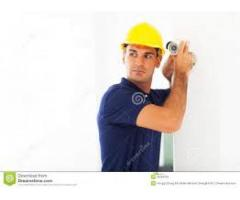 CCTV Camras and Fire Alarm Technician,and Helper Required In Karachi